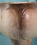 Bay                 Keramik Shape 452 glaze detail, West German pottery