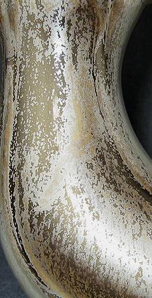 Bay Keramik vase shape 66, West German pottery, detail photo