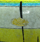Bay                 Keramik Vase Shape 575, detail photo with label