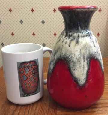 Bay Keramik vase shape 66
