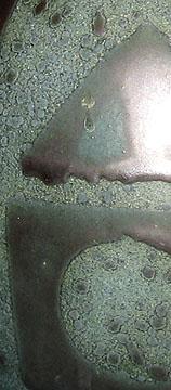 Braemore vase, Ankara glaze, detail photo