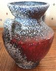 Bückeburg vase, West German pottery