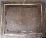Edgar Bundy Oil on Canvas, back photo