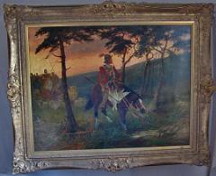 Edgar Bundy Oil on Canvas