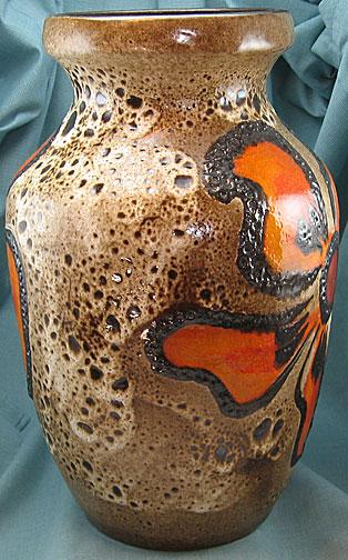 Carstens vase 7312, West German pottery