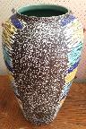 Carstens vase shape 662, West German pottery