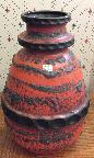 Carstens West German pottery vase shape 7322