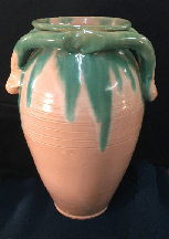 North Carolina pottery vase attributed to C.C. Cole