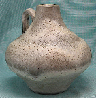 Ceramano vase with Island glaze