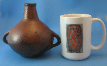 Ceramano Vase 274 West German pottery