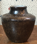 Ceramano vase with Nubia glaze