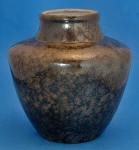 Ceramano vase with Nubia glaze West German
