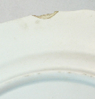 Chelsea-style porcelain plate, mark photo