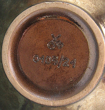 Dümler & Breiden Vase Shape o1o5, mark photo