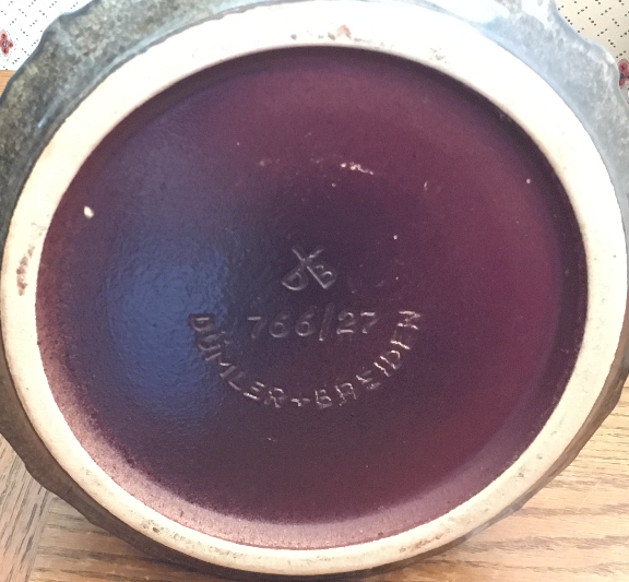 Dümler & Breiden Vase Shape 766, mark photo