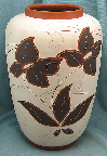 Eiwa vase with Oslo decor