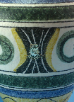 ES Keramik shape 683,  glaze detail