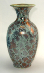 Fohr Vase with Patina glaze