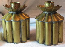 Gene Byron Mexican Brass Candle Holders thumbnail