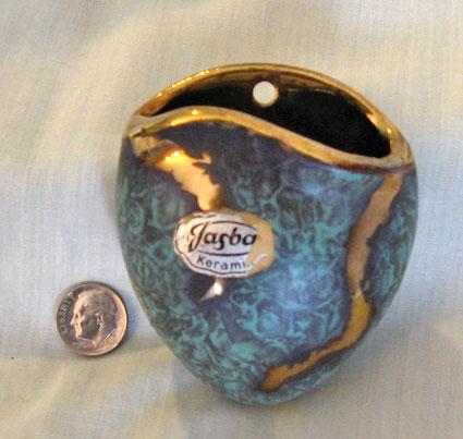 Jasba Wallpocket with Jaspatina Glaze