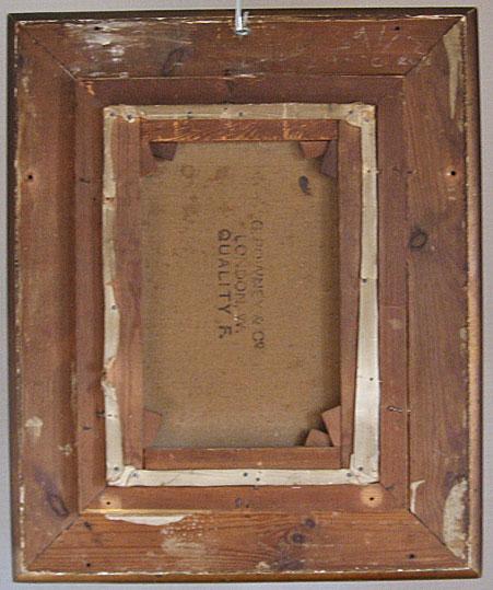 John Pettie Oil on Canvas showing smoking Cavalier, back