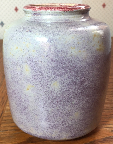 Studio Pottery vase signed JT