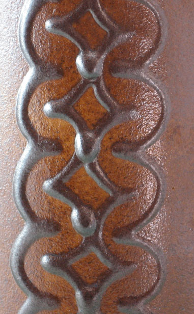 Laustizer East German Vase, detail photo