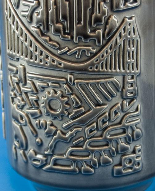 Ilkra Panorama vase 1033, detail photo