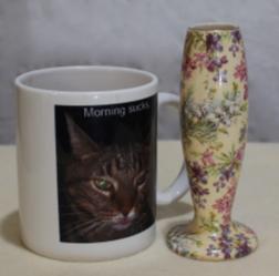 Lord Nelson Ware Heather Chintz Vase