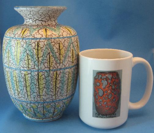 Marzi & Remy Vase with Linda Decor
