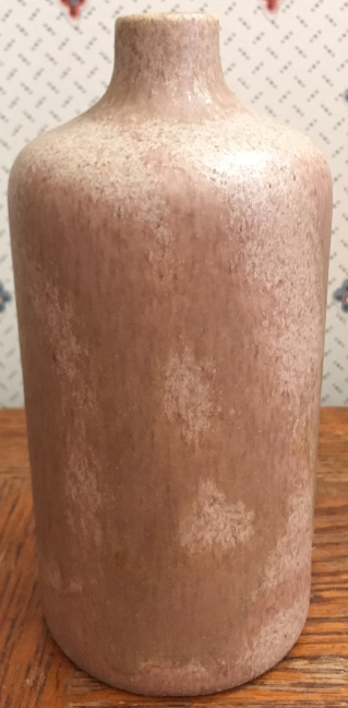 Otto Keramik Bottle Vase, Brown Glaze