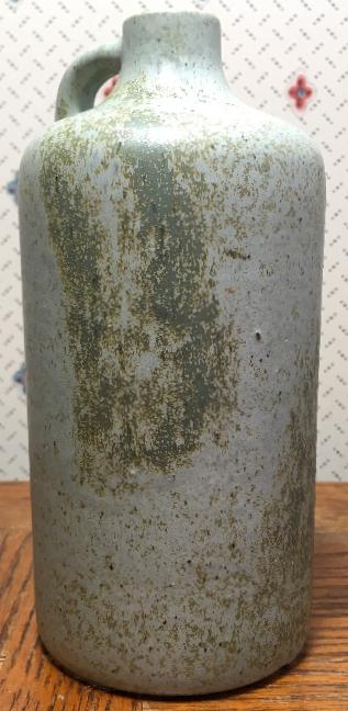Otto Keramik Jug Vase, Green Glaze