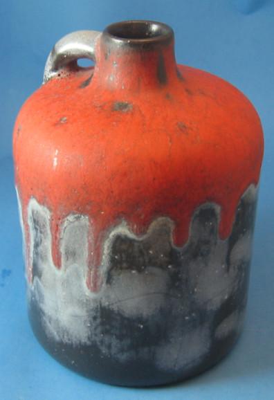 Otto Keramik Squat Jug, Granit Glaze