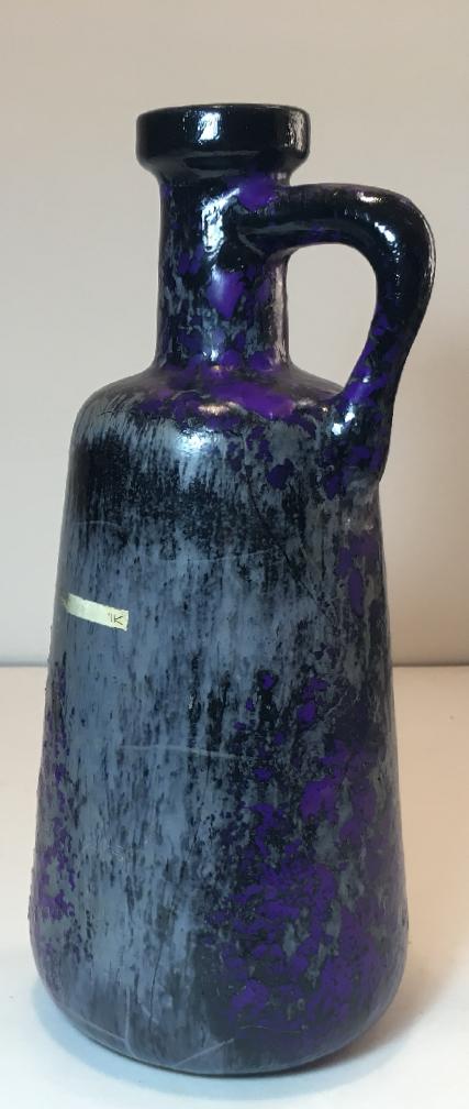Otto Keramik Tall Jug, Purple Glaze
