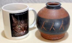 Pacific Stoneware vase