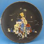 Ruscha Paris decor wall plate
