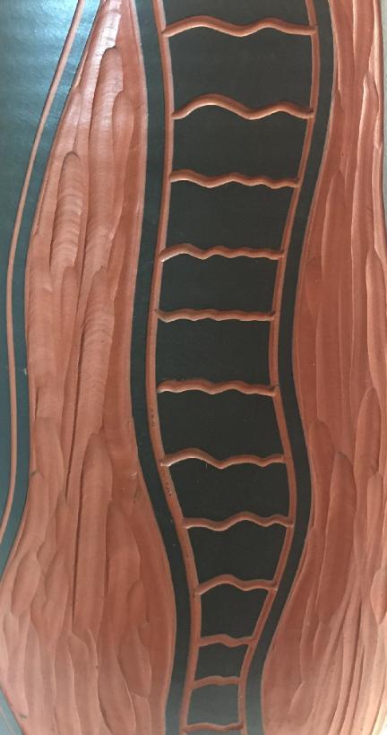 Sawa Klinker Vase Shape 319, detail photo