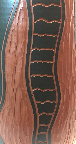 Sawa Klinker Vase Shape 319, glaze detail