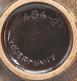 Scheurich Keramik Vase Shape 484, bottom photo