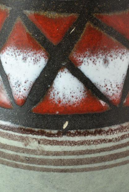 Scheurich Keramik Vase Shape 537, detail photo