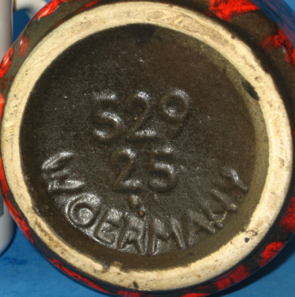 Scheurich Keramik Vase Shape 529, bottom photo