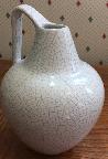 Silberdistel jug, West German pottery
