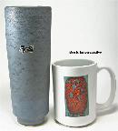 Silberdistel, West German pottery vase