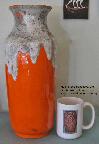 Ü-Keramik Floor Vase 1439