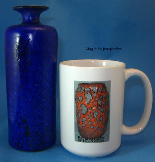 Unterstab Vase, Crystalline Glaze
