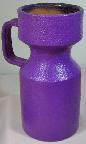 Purple Studio Pottery Vase