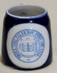 Yale University souvenir miniature mug